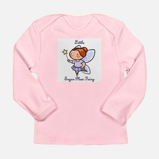 Little Sugar Plum Fairy Long Sleeve Infant T-Shirt