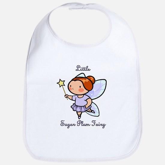 Little Sugar Plum Fairy Bib