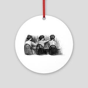 Gil Warzecha Ornament (Round)