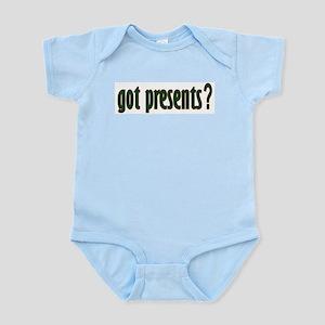 Got Presents? (green) Infant Bodysuit