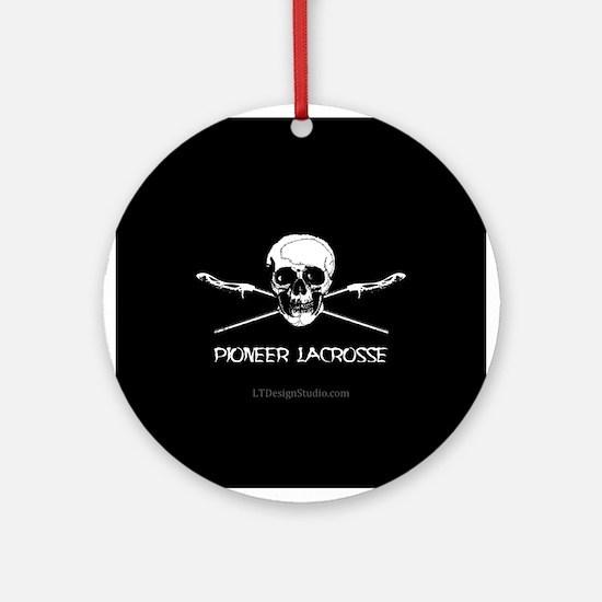 P-LAX Skull Ornament (Round)