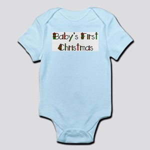 First Christmas (Presents) Infant Bodysuit