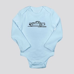 1957 Thunderbird Hardtop Long Sleeve Infant Bodysu
