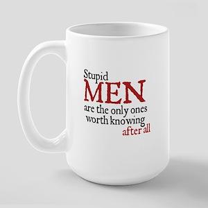 Jane Austen Stupid Large Mug