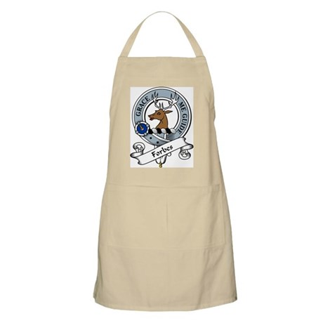Forbes Clan Badge BBQ Apron