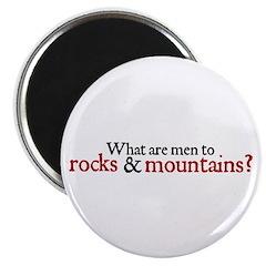 Jane Austen Rocks Magnet