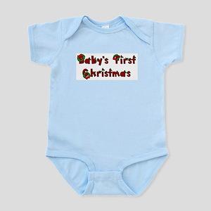 First Christmas (Wreaths) Infant Bodysuit