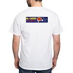 Mr. Cherry - White T-Shirt