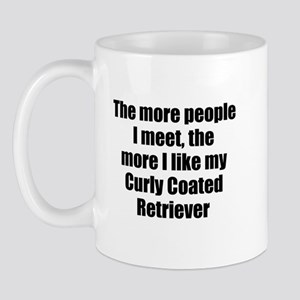 Curly Coated Retriever Mug