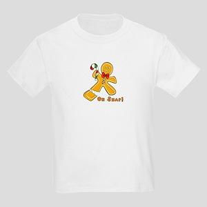 """Oh Snap!"" Ginger Bread Man Kids Light T-Shirt"