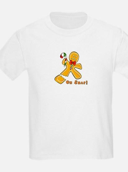 """Oh Snap!"" Ginger Bread Man T-Shirt"