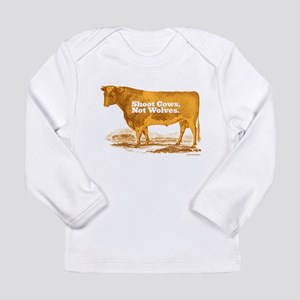 Shoot Cows Long Sleeve Infant T-Shirt