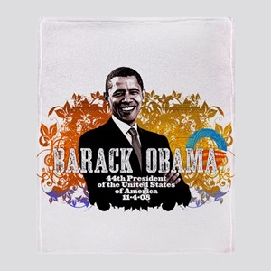 President Obama! Throw Blanket