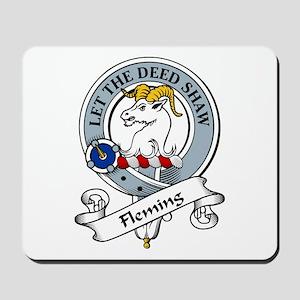 Fleming Clan Badge Mousepad