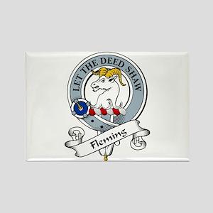 Fleming Clan Badge Rectangle Magnet (10 pack)