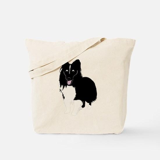 Shetland Sheepdog v4 Tote Bag