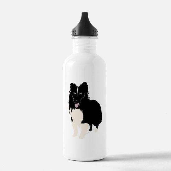 Shetland Sheepdog v4 Water Bottle