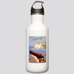 Discover Puerto Rico Stainless Water Bottle 1.0L