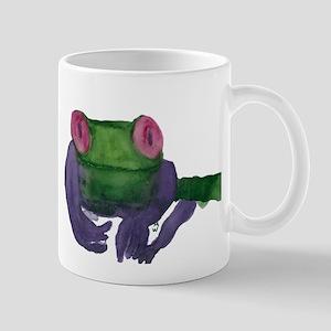 Thoughtful Frog Mug