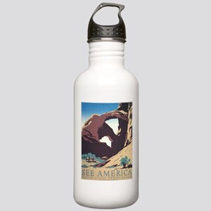 See America Natural Arches Stainless Water Bottle