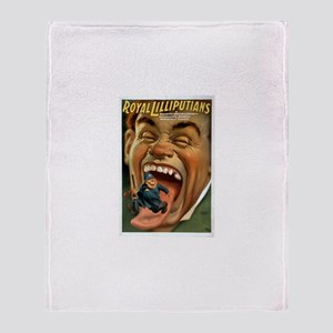 Royal Lilliputians Throw Blanket