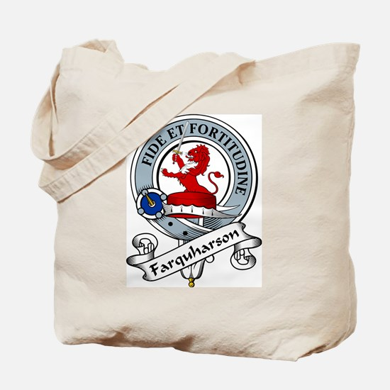 Farquharson Clan Badge Tote Bag