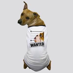 Bulldog Wanted Dog T-Shirt