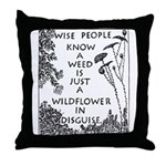 Kind People Throw Pillow