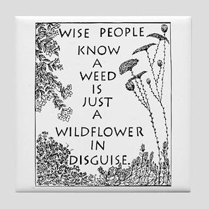Kind People Tile Coaster