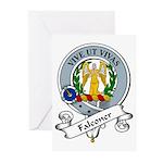 Falconer Clan Badge Greeting Cards (Pk of 10)