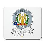 Falconer Clan Badge Mousepad