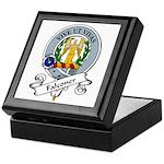 Falconer Clan Badge Keepsake Box