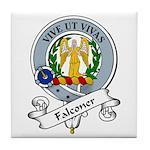 Falconer Clan Badge Tile Coaster