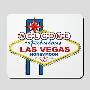 Welcome To Fabulous Las Veags Honeymoon Mousepad