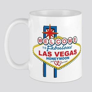 Welcome To Fabulous Las Veags Honeymoon Mug