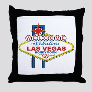 Welcome To Fabulous Las Veags Honeymoon Throw Pill