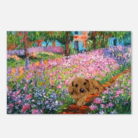 Garden Doxie Postcards (Package of 8)