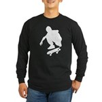 Skate On Long Sleeve Dark T-Shirt
