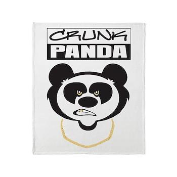 Crunk Panda™ Throw Blanket