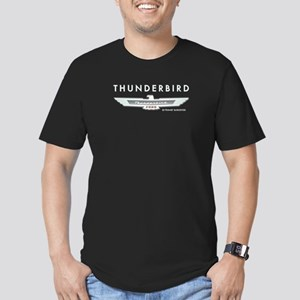 Thunderbird Emblem Men's Fitted T-Shirt (dark)