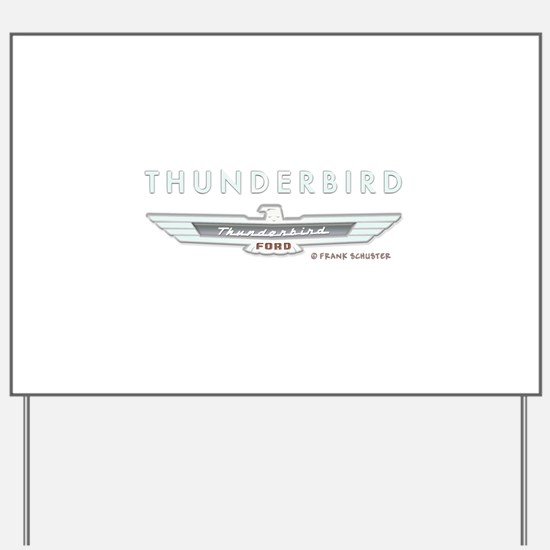Thunderbird Emblem Yard Sign