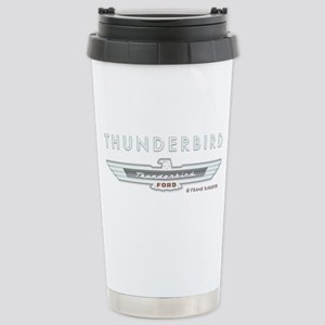 Thunderbird Emblem Stainless Steel Travel Mug