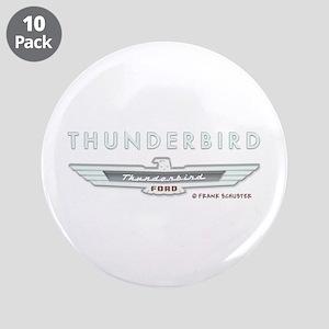 """Thunderbird Emblem 3.5"""" Button (10 pack)"""
