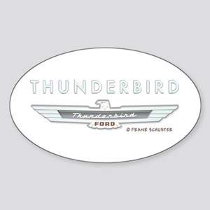 Thunderbird Emblem Sticker (Oval)