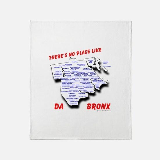 Cute The bronx new york Throw Blanket