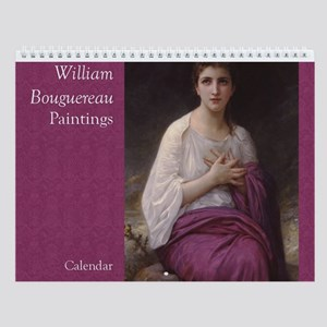 Bouguereau Art Wall Calendar