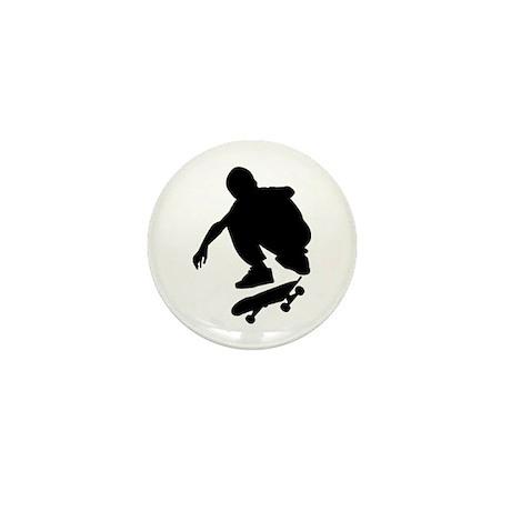 Skate On Mini Button