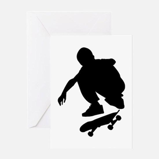 Skate On Greeting Card