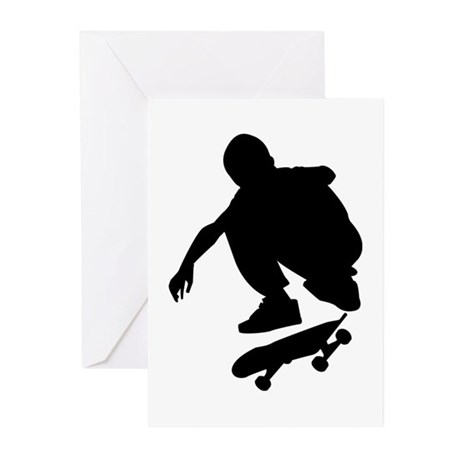 Skate On Greeting Cards (Pk of 10)