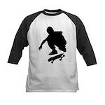 Skate On Kids Baseball Jersey